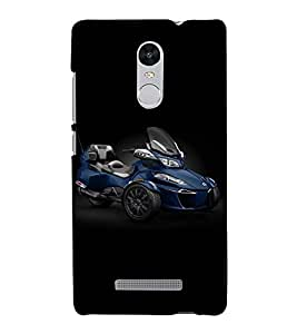 Fuson Designer Back Case Cover for Xiaomi Redmi Note 3 :: Xiaomi Redmi Note 3 Pro :: Xiaomi Redmi Note 3 MediaTek (Motorbike theme)