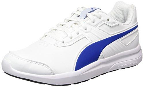 Puma Escaper Sl Jr, Sneakers Basses Mixte Enfant Blanc (White-lapis Blue)