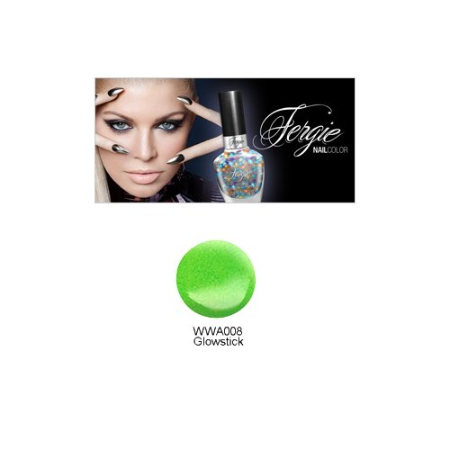(3 Pack) Wet N Wild FERGIE NAIL COLOR - Glowstick