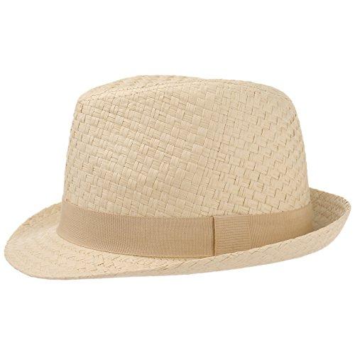 MaxiMo | Cooler Sommer-Hut in Stroh-Optik für Jungen oder Mädchen Größe 55 -