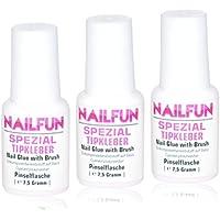 NAILFUN Pegamento Especial para Uñas 3 x ...