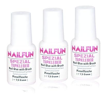 3er Set NAILFUN Tipkleber