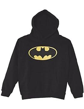 DC Comics Jungen, Kapuzenpullover, DC Comics Official Batman Logo Crackle
