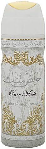 Pure Musk Deodorant Body Spray For Unisex 200ml