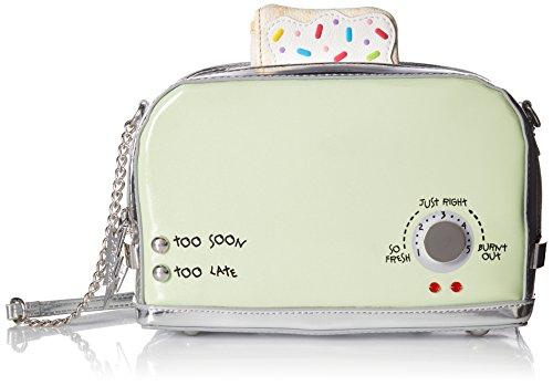Preisvergleich Produktbild Betsey Johnson a Toast to You Poptart and Toaster Crossbody,  Mint