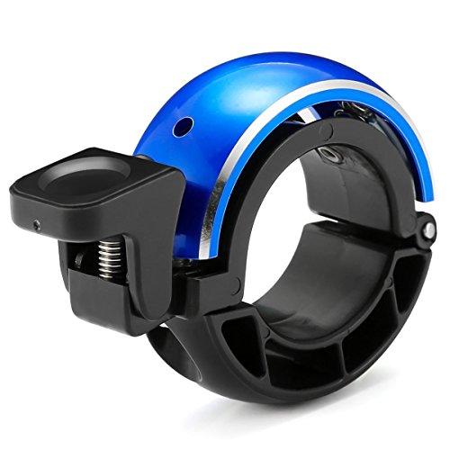 Fahrradklingel Laut,SGODDE Fahrradglocke Radfahren Fahrrad für Alle Fahrrad 2 Farben, Lenker Alarm Horn Ring 22.2-24mm (Blau)