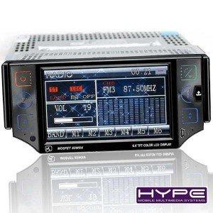 hype hv560gps autoradio gps dvd ecran tactile 13cm video divx mp3 usb sd bluetooth. Black Bedroom Furniture Sets. Home Design Ideas