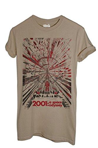 T-Shirt 2001: ODISSEA NELLO SPAZIO - FILM by Mush Dress Your Style - Donna-S-Sand