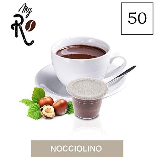 50 Cápsulas compatibles Nespresso - Avellana - MyRistretto