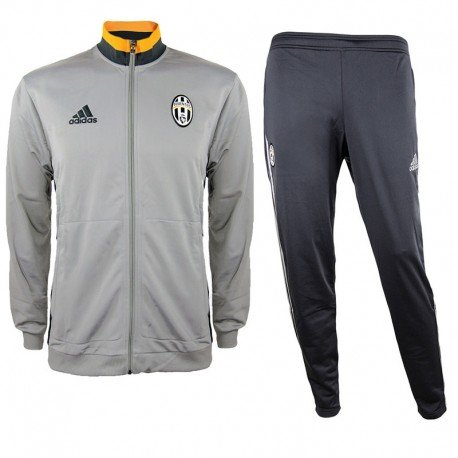 adidas Kinder Juventus Turin Trainingsanzug, Collegiate Gold/Dark Grey/Ch Solid Grey, 176