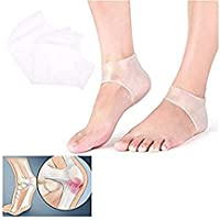 CJN Gel Foot Heel Protectors, Heel Protection Cushion, Heel Protectors Pads, Foot Heel Pain Relief (1 Pairs) preisvergleich bei billige-tabletten.eu