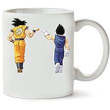 San Goku Dragon Ball Z Taza Para Café Y Té