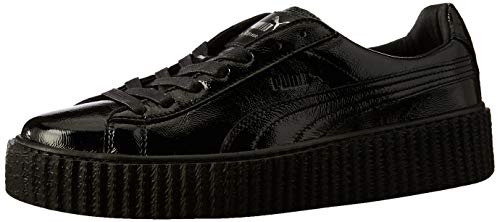 e43d46a6825 ... Vikky Platform leather Sneaker Women kids Trainers 363287 05 black  white. Comments. PUMA CREEPER FENTY BY RIHANNA WHITE   BLACK WRINKLED  LEATHER