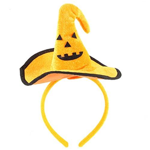 ODN Halloween Stirnband Hexe Hut Haarbänder für Kostüm Dress up Party Dekoration (Stil (Up Kreative Kostüme Dress)
