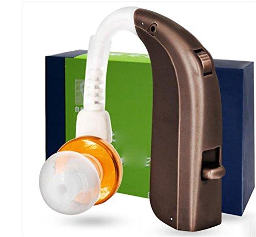 D&F Digitaler HöRverstäRker - Hinter Dem Ohr - Wiederaufladbar, 3 OhrhöRer. A-190 ÄLtere Taubheit - Passt Sowohl Auf Das Linke Als Auch Auf Das Rechte Ohre