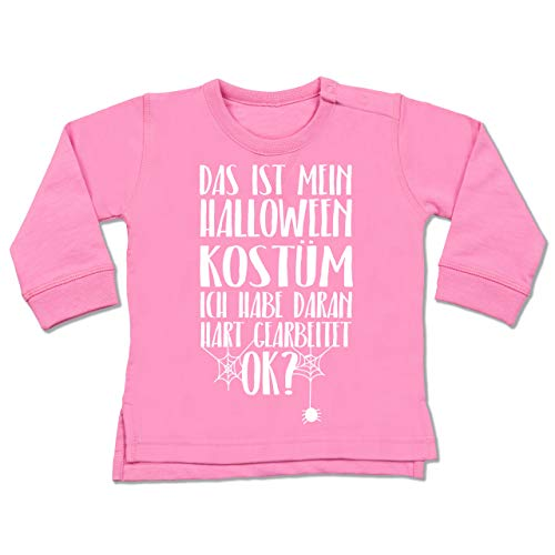 Shirtracer Anlässe Baby - Das ist Mein Halloween Kostüm - 18-24 Monate - Pink - BZ31 - Baby ()