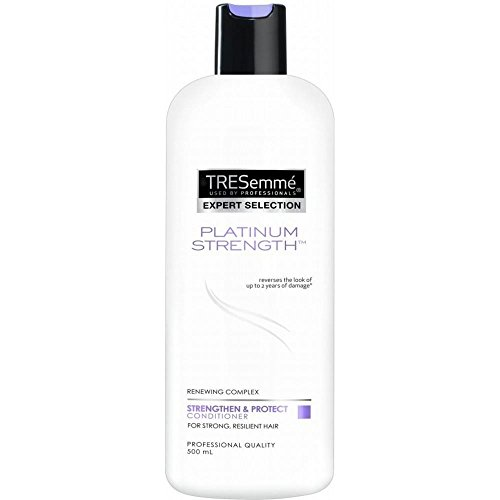 TRESemmé Platinum Force Conditioner (500ml) - Paquet de 6