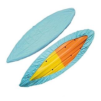Gazechimp-Funda-de-Protectora-Para-Barcos-Canoa-Para-Kayak-Proteccin-Cubierta-Contra-Sol-A-Prueba-de-PolvoLluvia-Azul-claro61-m