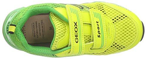 Geox J Android C, Baskets Basses Garçon Vert (C0790)