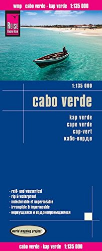 Reise Know-How Landkarte Cabo Verde (1:135.000): world mapping project