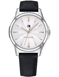 Tommy Hilfiger Reloj Analógico para Mujer de Cuarzo con Correa en Cuero 1781953