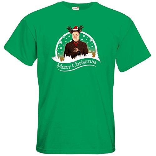 getshirts - Heidelwurst - T-Shirt - WeihnachtsCurry Kelly Green