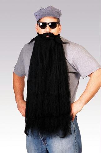 Kost-me f-r alle Gelegenheiten RU2053BK Mohair 25 Inch Black (Beard Black Kostüme)