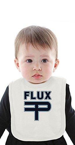 Flux Pavillion Logo Organic Bib With Ties Medium - Lazer Bib