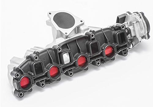 vollregeneriertes Saugrohr 2.0 TDI CR mit Stellmotor Aluminiumgehäuse