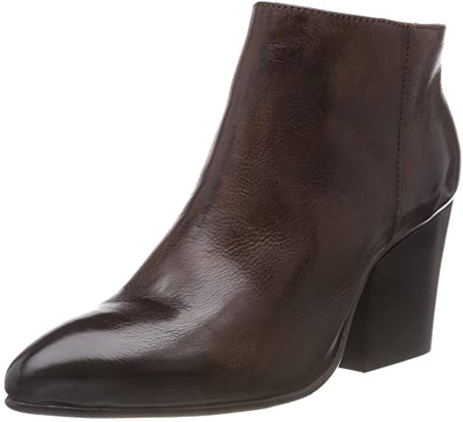 SELECTED FEMME Zip Slfamber Zip FEMME Leather Boot B, Bottines 29e1f2