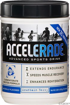 Accelerade - Sports Drink Powder, 60 Serving, Mountain Berry, 4.11 Lbs