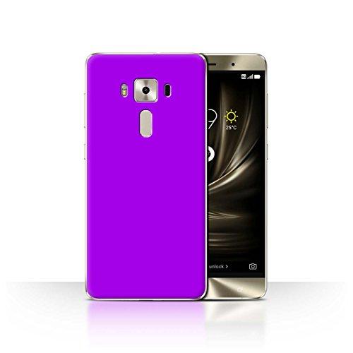 Stuff4® Hülle/Case für Asus Zenfone 3 Deluxe ZS570KL / Lila Muster/Farben Kollektion
