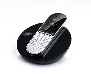 Sagemcom D77V Single DECT Cordless Telephone with Answering Machine - Black