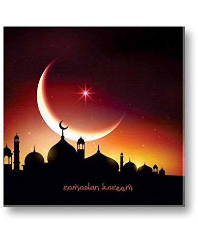Eid gifts, Aesthetic Ramadan Kareem Eid Mubarak Islamic Canvas Painting Wall Decor...
