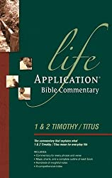 1 AND 2 TIMOTHY TITUS PB (Life application Bible commentary)