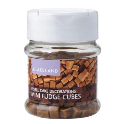Lakeland Fudge Cubes Cake Topper Edible Sprinkles