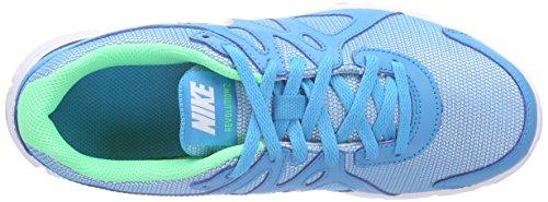Nike Revolution 2 GS Scarpe Sportive, Ragazza Blu (Blue Lagoon/metallic Silver/white/black)