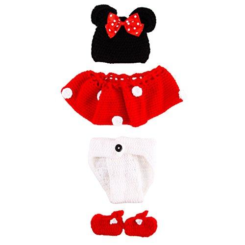 Imagen de cle de tous  disfraz de animal para bebé recién nacido infantil baby para fotografía minnie  alternativa