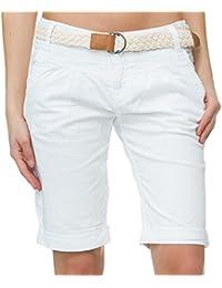 Fresh Made - Pantalón corto deportivo - para mujer Weiß S