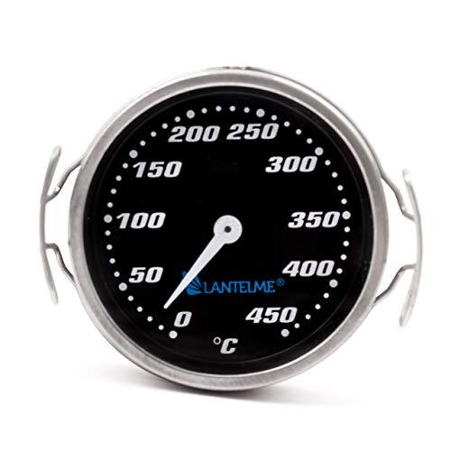 Lantelme Grillrost Thermometer Edelstahl Temperatur 0 bis 450 °C Analog Grillgitter Grill Zubehör 7730 | Garten > Grill und Zubehör > Grillzubehör | Lantelme