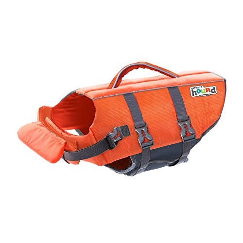 Kyjen 22019 Outward Hound Ripstop Quick Release Easy Fit Rettungsweste für Hunde, verstellbar, Größe S, orange