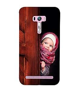 Vizagbeats Hiding Baby Back Case Cover for Asus Zenfone Selfie::Asus Zenfone Selfie ZD551KL