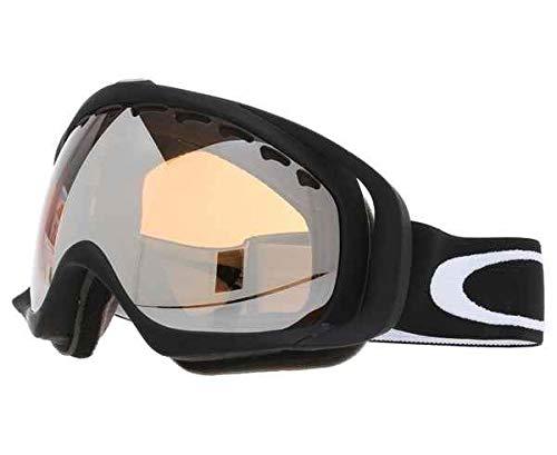Oakley Crowbar - Gafas para deportes de nieve, color negro y amarillo