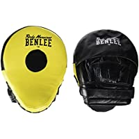 Benlee Rocky Marciano Hook and Jab Pads Jersey Joe - Black/Yellow, One Size