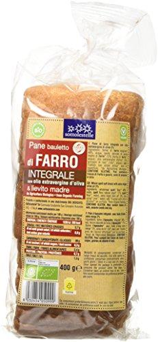 Sottolestelle Pane Bauletto di Farro Integrale 3 pezzi da 400 g