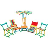 Emob Colorful Sticks Creative Building Blocks Learning Toy Set Perfect Gift for Kids
