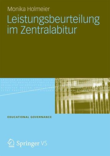 Leistungsbeurteilung im Zentralabitur (Educational by Monika ...