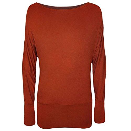 Générique Damen Pullover Rust