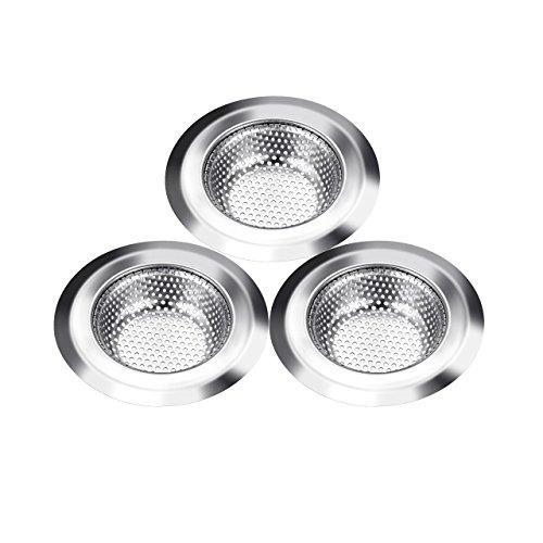 sink-strainer-pictek-3pcs-kitchen-sink-strainer-waste-plug-stainless-steel-drain-protector-kitchen-s