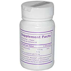 Optimox Corporation, Iodoral, 12.5 mg, 90 Tablets